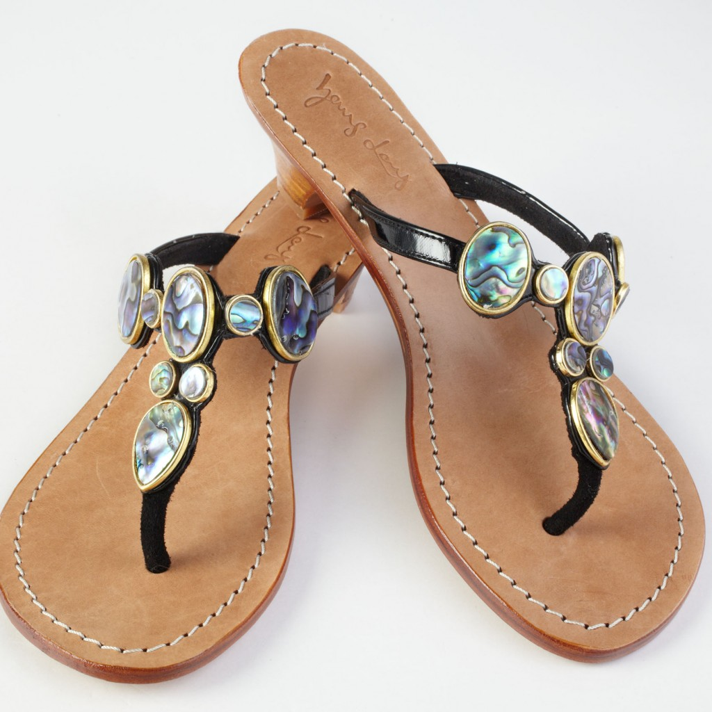 Abalone Seashells Sandals