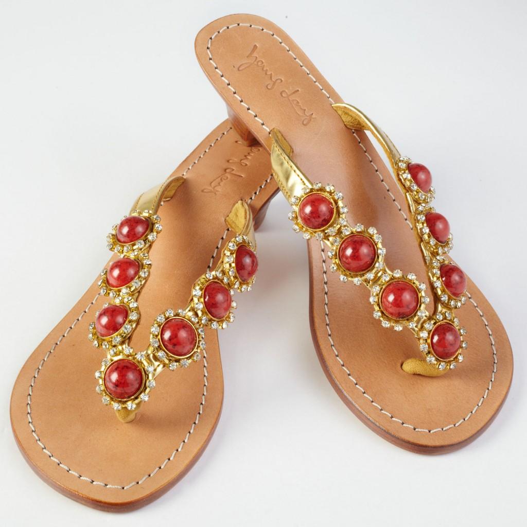 Cabochons Sandals